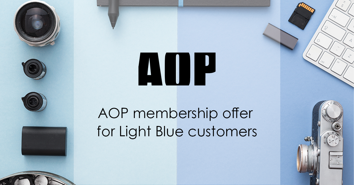 AOP membership offer for Light Blue customers