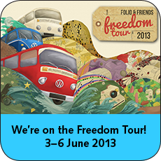 We're on the Freedom Tour 2013!